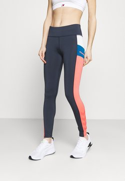 Hummel - SHARNI MID WAIST - Tights - blue nights