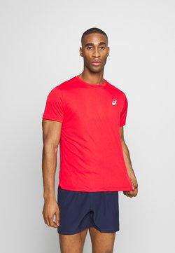 ASICS - SILVER SS - Camiseta básica - classic red