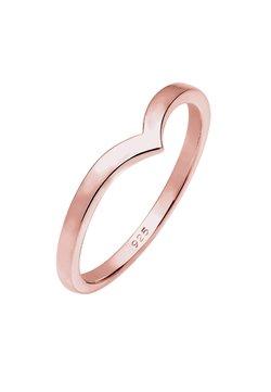 Elli - BASIC V-FORM - Ring - roségold-coloured