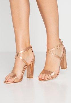 Glamorous - Sandalen met hoge hak - rose gold