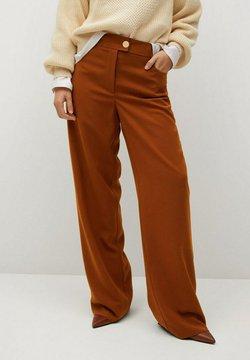 Violeta by Mango - TEJAS - Pantalon classique - brown