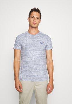 Superdry - VINTAGE EMBROIDERY TEE - T-shirt imprimé - mist blue space