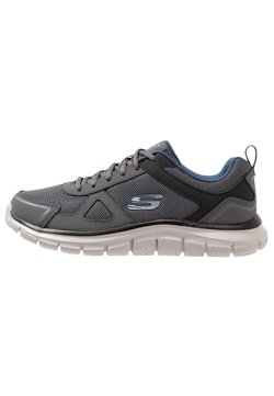 Skechers Sport - TRACK SCLORIC - Sneaker low - grey/navy