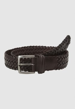 Anderson's - BELT UNISEX - Braided belt - dark brown