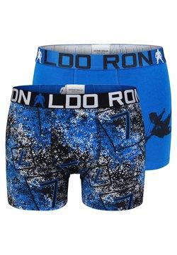 Cristiano Ronaldo CR7 - RETROSHORTS 2 PACK  - Panties - blue