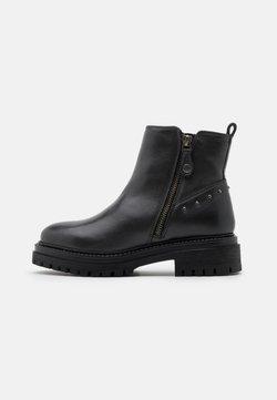 Geox - IRIDEA - Platform ankle boots - anthracite