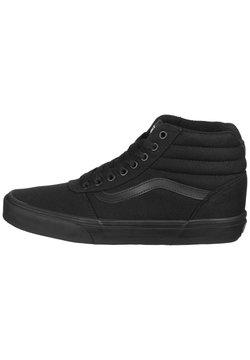 Vans - WARD HI  - Baskets basses - black  black