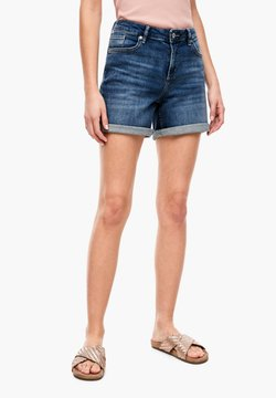 Q/S designed by - Jeans Shorts - dark blue