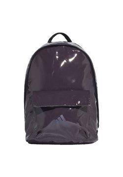 adidas Performance - GLOSSY EFFECT CLASSIC BACKPACK - Reppu - purple