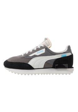 Puma - RIDER - Sneaker low - black/castlerock