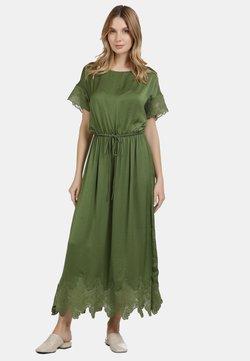usha - Vestido largo - oliv
