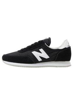 New Balance - 720 UNISEX - Matalavartiset tennarit - black/white