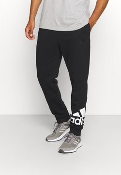 adidas Performance - ESSENTIALS - Jogginghose - black/white