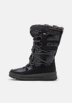 TOM TAILOR - Snowboot/Winterstiefel - black
