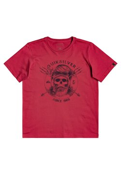 Quiksilver - T-shirt print - american red