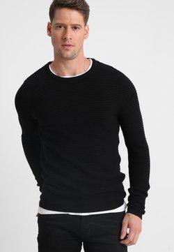 Selected Homme - SHHNEWDEAN CREW NECK - Sweter - black