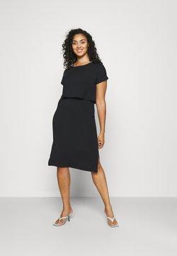 Mamalicious Curve - MLJILL DRESS  - Sukienka z dżerseju - black