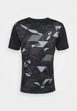 ASICS - FUTURE CAMO - T-shirt con stampa - performance black