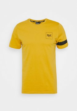 Everlast - TEE KING - Printtipaita - yellow