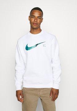 Nike Sportswear - ZIGZAG CREW - Sweatshirt - white