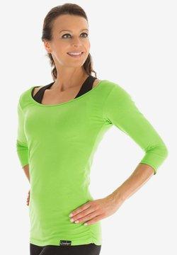 Winshape - Langarmshirt - apfelgrün