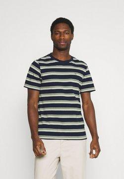 Casual Friday - THOR STRIPE TEE - T-Shirt print - navy blazer