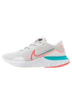 Nike Performance - RENEW RUN - Zapatillas de running neutras - summit white/flash crimson/oracle aqua