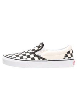 Vans - CLASSIC SLIP-ON - Scarpe senza lacci - black/white