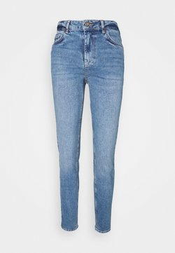 Pieces - PCLEAH MOM - Jeans Relaxed Fit - medium blue denim