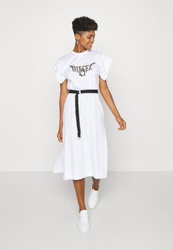 Diesel - D-FLIX-C DRESS - Jerseykleid - white