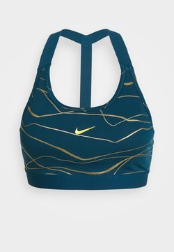 Nike Performance - BRA - Sport BH - valerian blue/metallic gold
