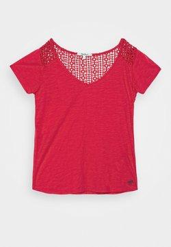 Pepe Jeans - BARBARA - Camiseta estampada - mars red