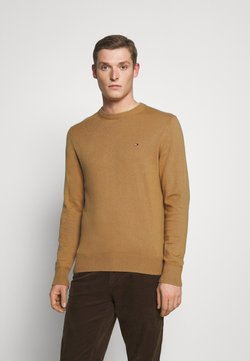 Tommy Hilfiger - PIMA CREW NECK - Pullover - brown