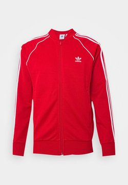 adidas Originals - UNISEX - Veste de survêtement - scarle/white