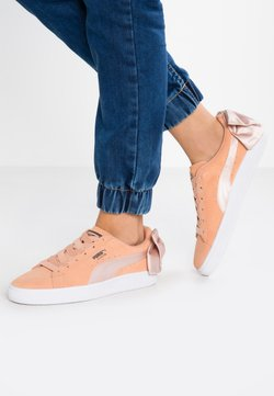 Puma - Loaferit/pistokkaat - dusty coral/cream tan