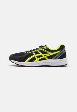 ASICS - GEL-BRAID - Zapatillas de running neutras - black/safety yellow