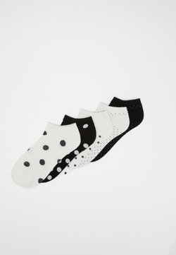 Urban Classics - 5 PACK - Socken - white/black