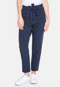 Pieces - PCALBIA - Trousers - dark blue
