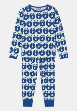 Småfolk - APPLE UNISEX - Pijama - blue lolite