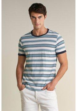 Salsa - PALM BEACH - T-Shirt print - weiß