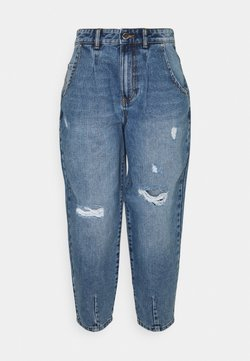 ONLY - ONYVERNA BALLOON  - Relaxed fit jeans - medium blue denim