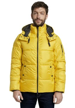 TOM TAILOR - HEAVY PUFFER - Winterjacke - californian yellow