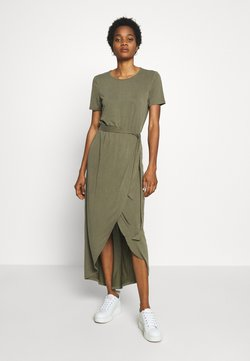 Object - JANNIE NADIA  - Maxi-jurk - burnt olive