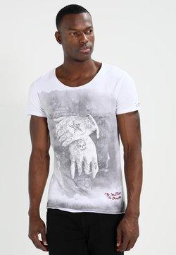 Key Largo - ALIVE - T-shirt print - white