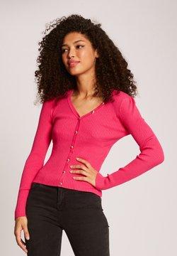 Morgan - Strickjacke - neon pink