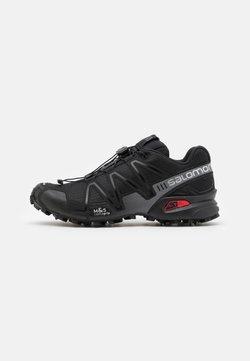 Salomon - SPEEDCROSS 3 UNISEX - Sneaker low - black/quiet shade