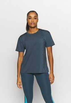 Under Armour - SPORT GRAPHIC - Printtipaita - mechanic blue