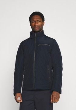 TOM TAILOR - QUILTED JACKET - Overgangsjakker - sky captain blue