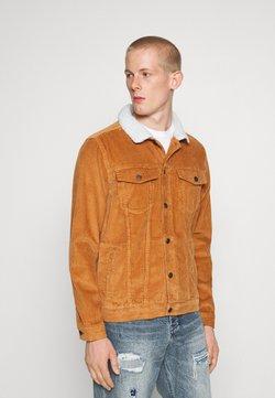Denim Project - TEDDY JACKET - Summer jacket - brown