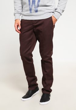 Dickies - 872 SLIM FIT WORK PANT  - Chino - chocolate brown